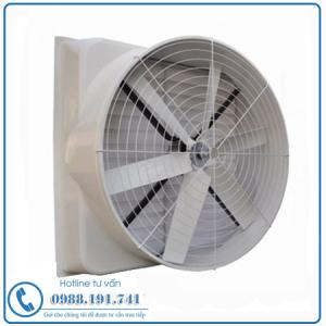 Quạt Thông Gió Công Nghiệp Vuông Composite 850x850