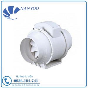 Quạt Thông Gió Nối Ống Vuông Góc Nanyoo DPT10-11