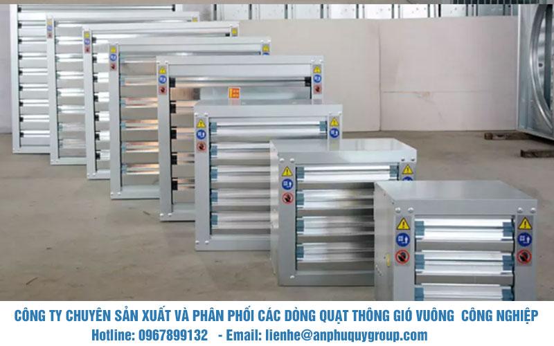 Nhà phân phối quạt thông gió vuông công nghiệp chất lượng