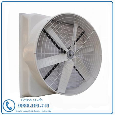 Quạt Thông Gió Công Nghiệp Vuông Composite 1060x1060