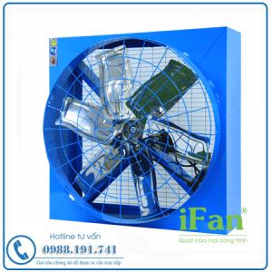 Quạt Thông Gió Vuông Hai Mặt Lưới IFan 12E