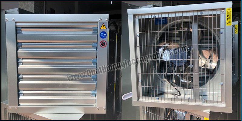 Quạt thông gió công nghiệp 500x500 SHRV