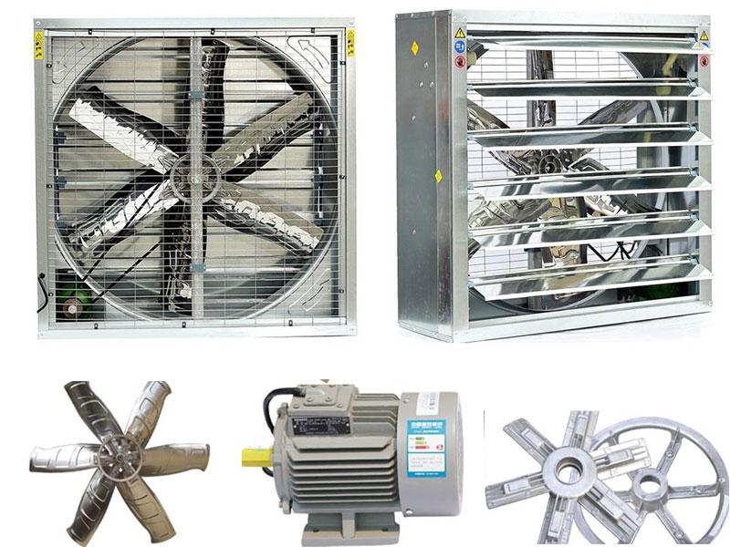 Nhà sản xuất và phân phối quạt hút vuông công nghiệp