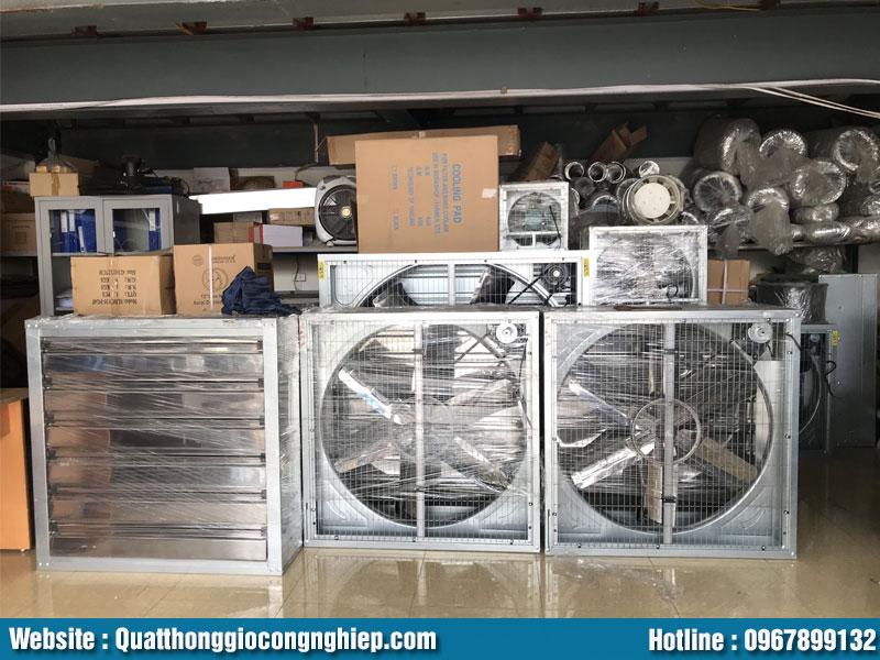 Sản xuất và phân phối quạt thông gió vuông chính hãng