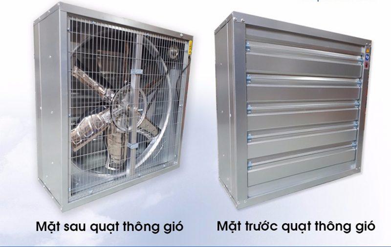 Nhà sản xuất và phân phối quạt thông gió vuông chất lượng