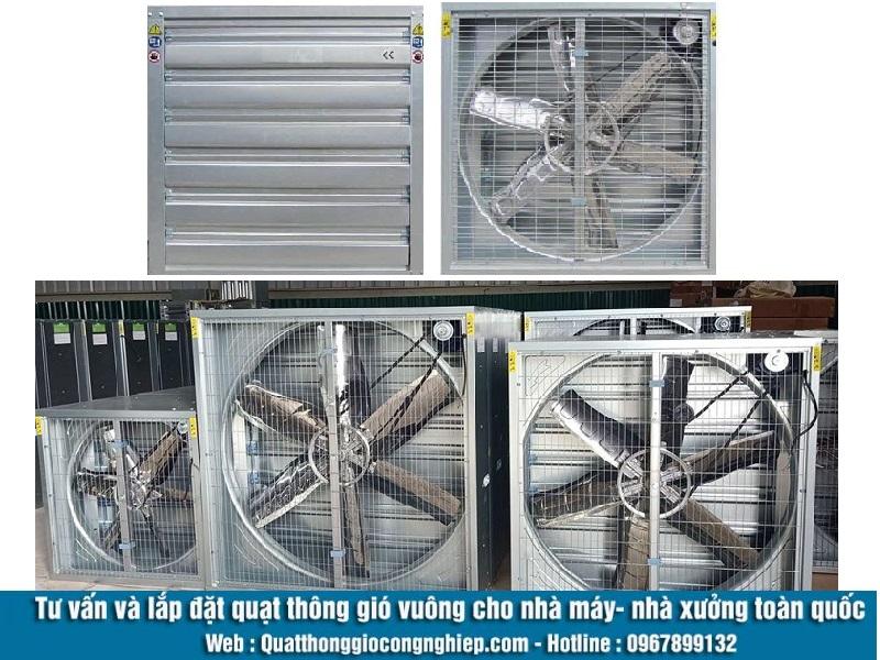 Quạt thông gió vuông 600x600 có tính ứng dụng cao