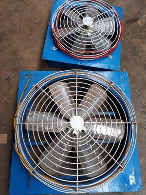 Quạt thông gió cũ sử dụng rất tốn điện và nguy hiểm
