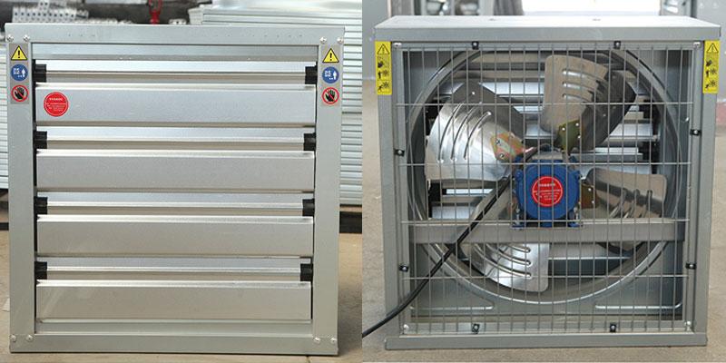 Sản xuất và cung cấp quạt thông gió 500x500 chất lượng