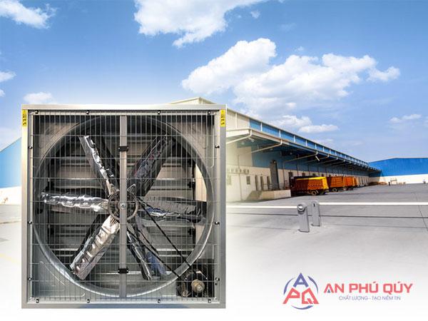 Báo giá quạt thông gió công nghiệp tại TP HCM