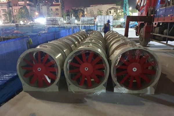 Sản xuất cung cấp quạt hướng trục phòng cháy