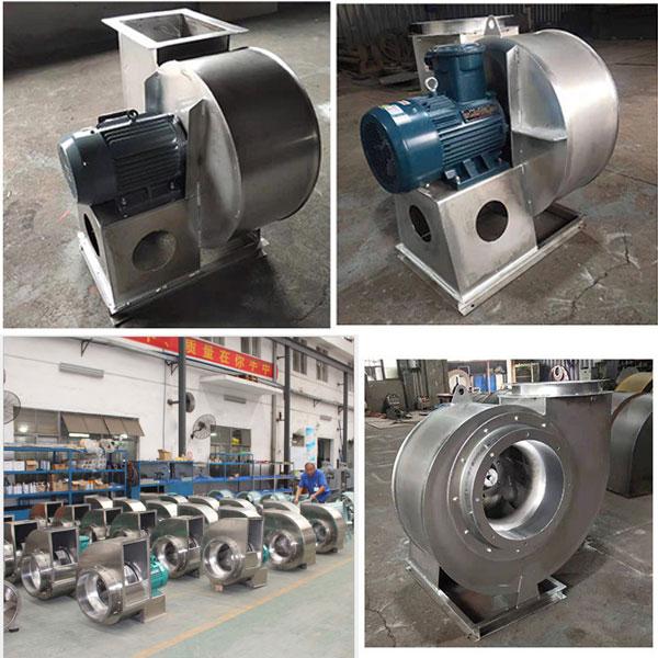 Sản xuất cung cấp quạt ly tâm inox trung áp chất lượng